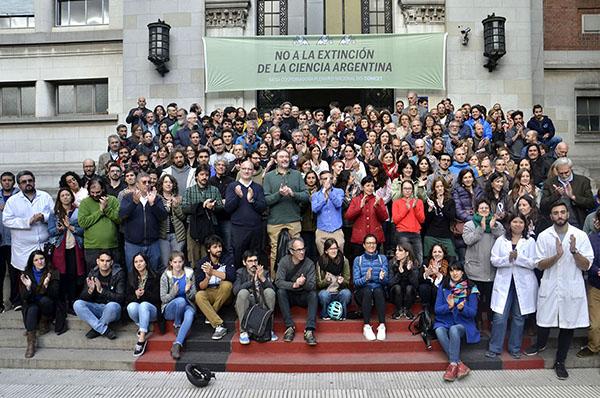 El encuentro tuvo lugar en el El Museo Argentino de Ciencias Naturales Bernardino Rivadavia.