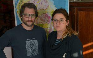 Andrés Folguera y Ana Astort.