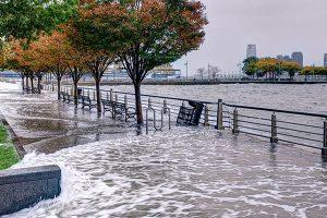 El aumento del nivel del mar va acompañado de un incremento en la frecuencia de eventos extremos