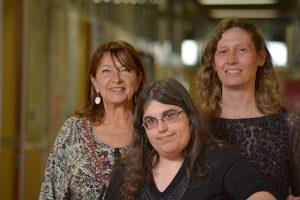 (De izq. a der.) Matilde Rusticucci, Soledad Collazo y Mariana Barrucand. Foto: Diana Martinez Llaser.