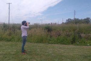 A lo largo de dos años, Lucas Leveau observó con sus binoculares qué aves hallaba en Mar del Plata, Balcarce y Miramar. Foto: Gentileza Lucas Leveau.