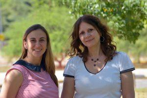 Noelia Guzmán y Viviana Confalonieri.