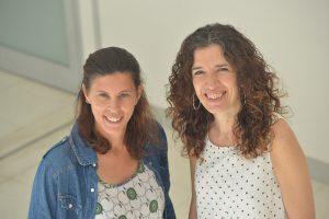 Luz Bavassi y María Eugenia Pedreira.