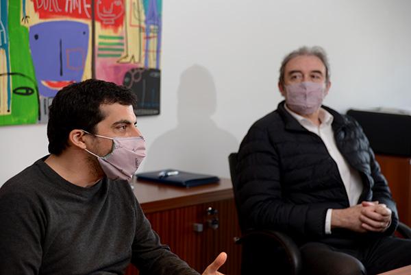Pablo Nuñez y Juan Pablo Paz.
